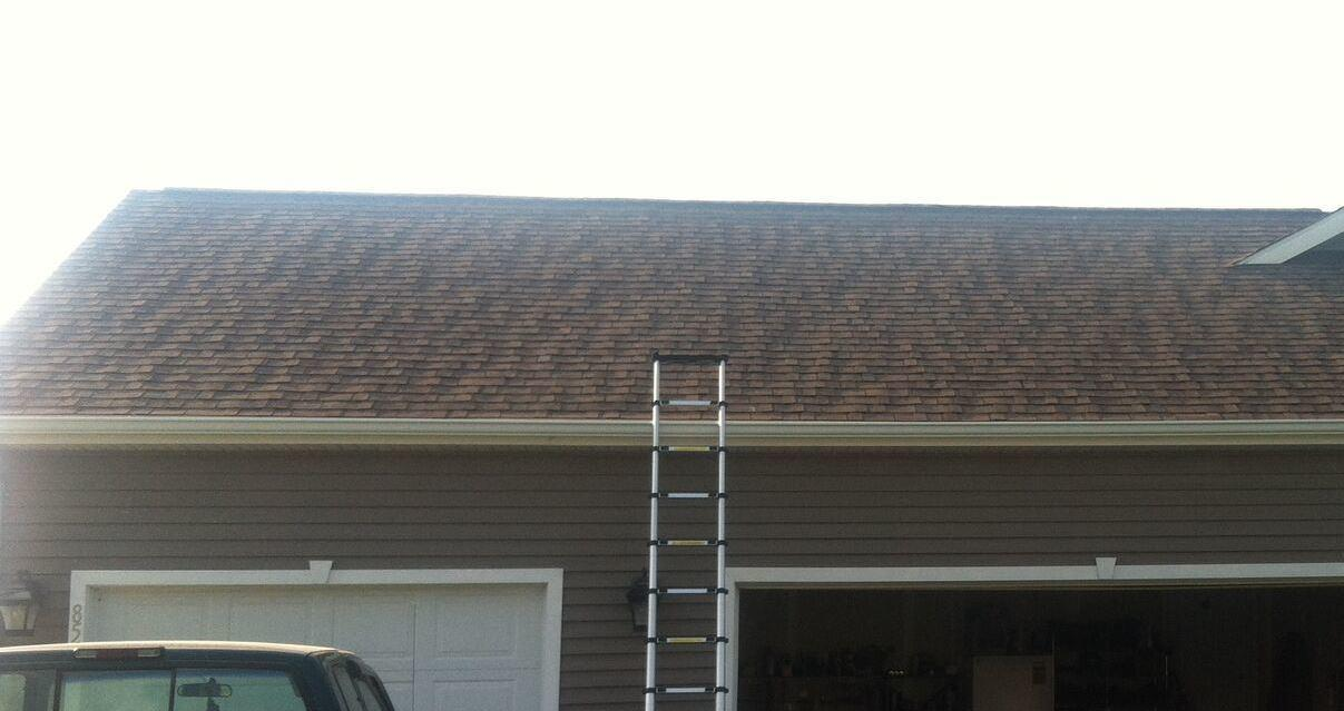 Roof-Mounted Solar Array in Cayuga, NY - Before Photo
