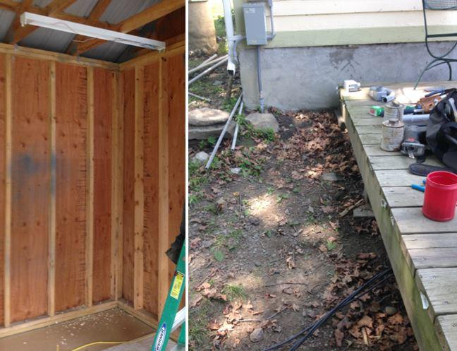 Sub Panel Installation in Trumansburg, NY - Before Photo