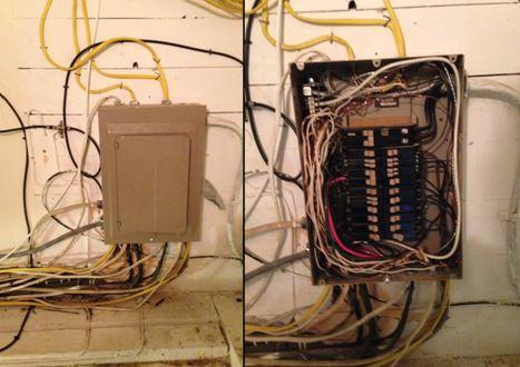 Electrical Panel Upgrade in Willard, NY - Before Photo