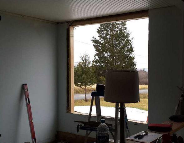 Window Replacement in Aurora, NY - Before Photo