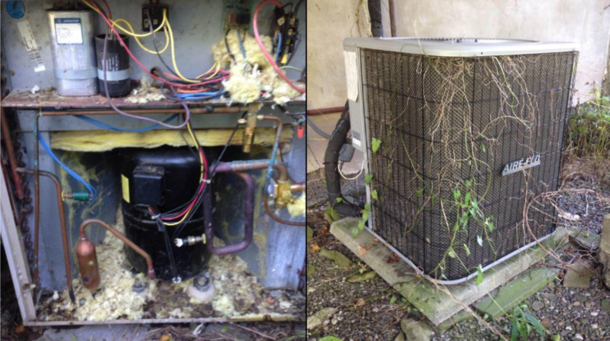 Air Conditioning Maintenance in Danby, NY - Before Photo