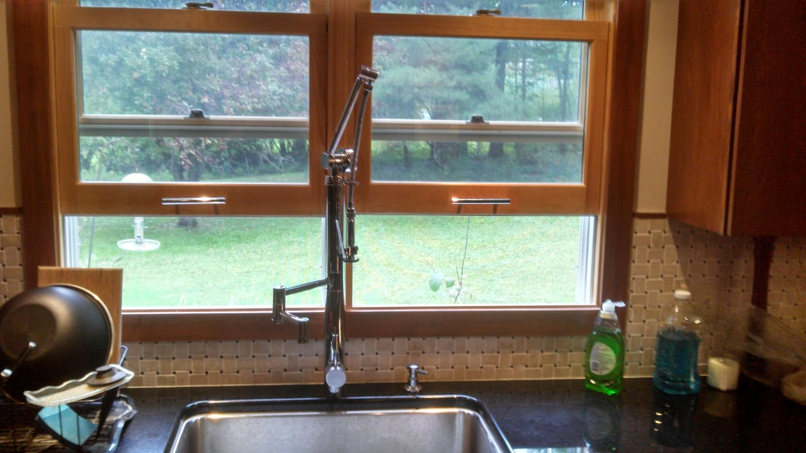Kitchen Faucet Replacement in Ithaca, NY - After Photo