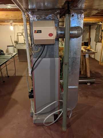 Air Source Heat Pump for Ithaca, NY Customer