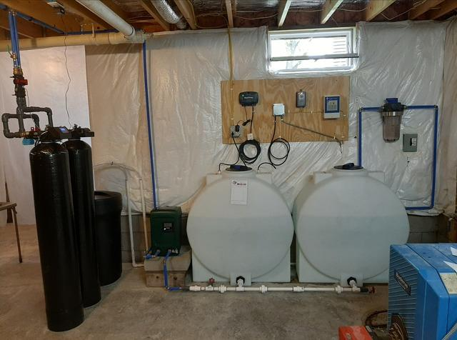 New Water Softening System for Weedsport, NY Customer - After Photo