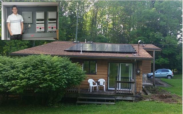 Solar Installation in Alfred, NY