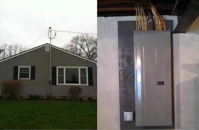 Electrical Service Installation in Penn Yan, NY - After Photo