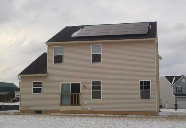 Solar System Installed in Farmington, NY - After Photo