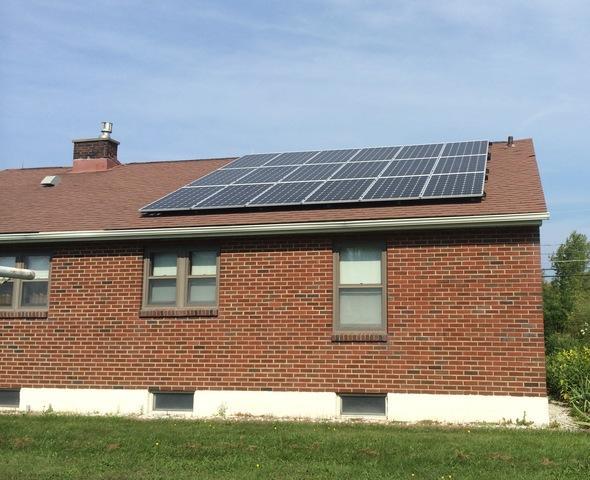 Solar Installation is Oswego, NY