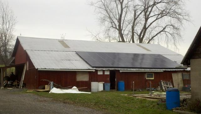 Port Byron, NY Solar Installation - After Photo