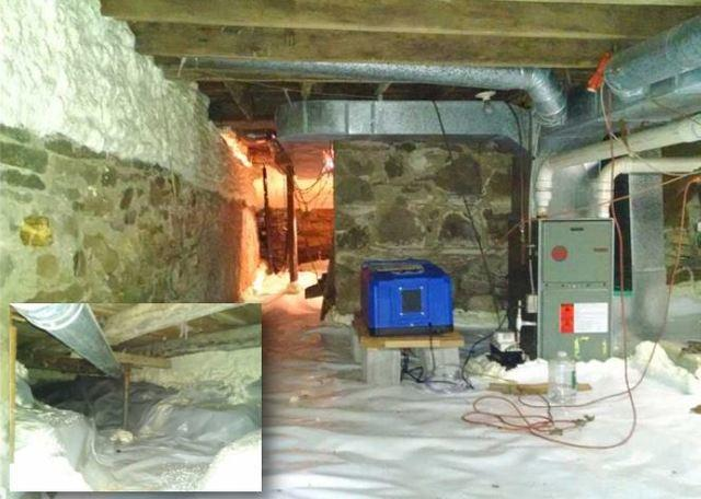 Basement Waterproofing & Insulation in Naples, NY