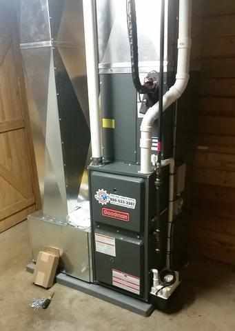 Duel Fuel Hybrid Heating System in Naples, NY - After Photo