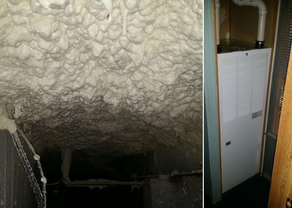 Spray Foam Insulation for Alfred Station, NY Customer