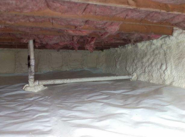 Crawl Space Insulation in King Ferry, NY
