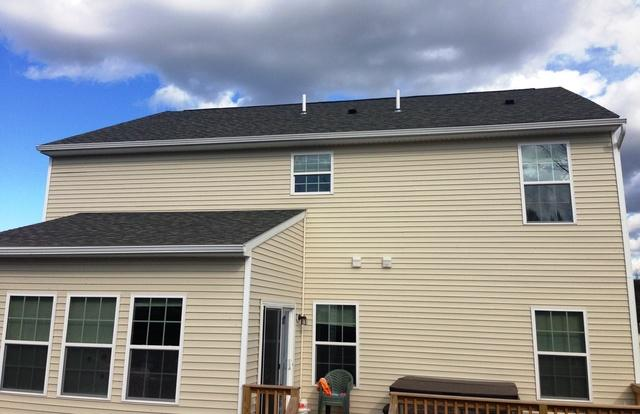 Solar Electric System in Jamesville, NY - Before Photo