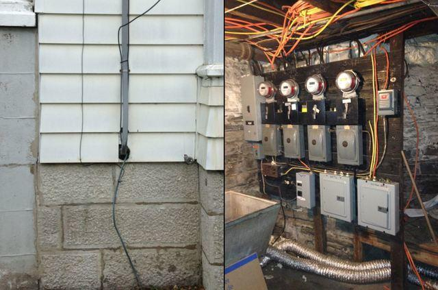 Electric Upgrade for Cortland, NY Home - Before Photo