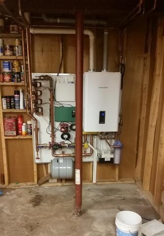 Navien Water Heater Installation in Ontario, NY