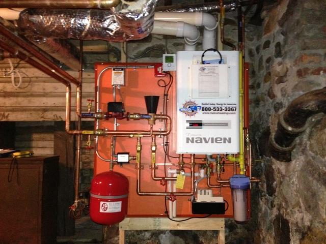 Navien Water Heater Installation in Newark, NY