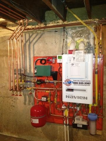 Navien Water Heater Installation In Ithaca, NY
