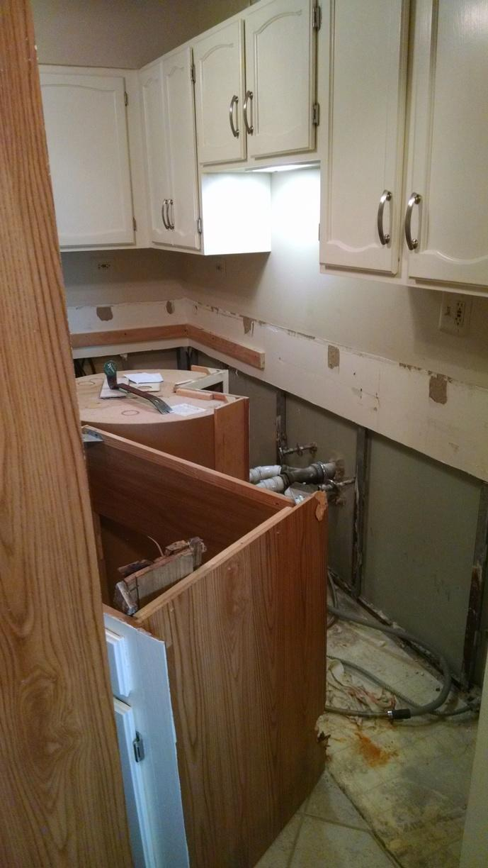 Water Damage Repair in Arlington Heights IL - Before Photo