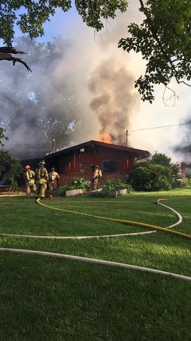 Boardup Following a House Fire in Antioch, IL