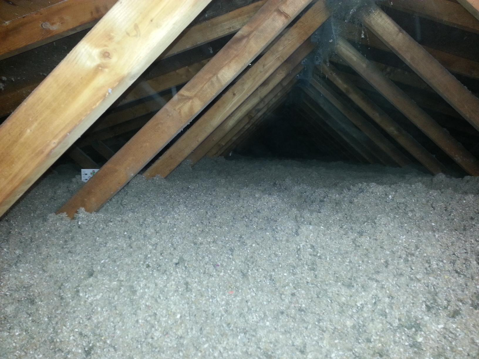 Augusta, Maine Insulation Job - After Photo