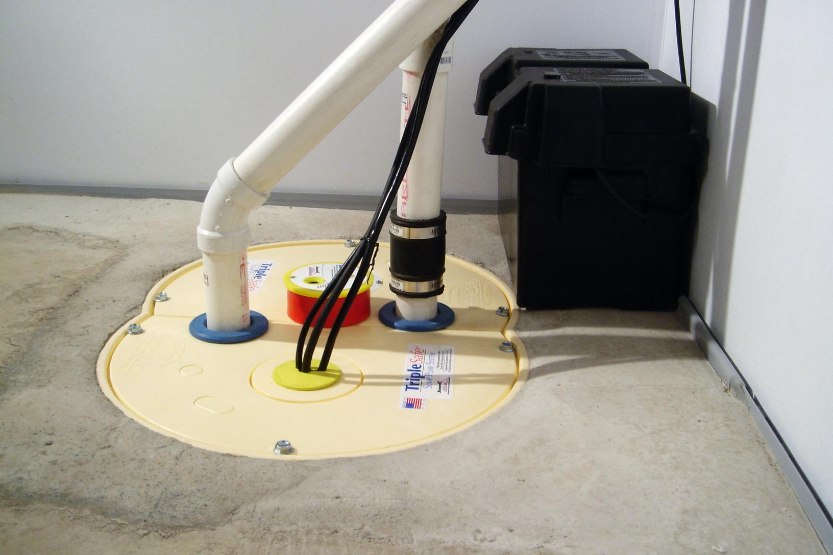 This Hantsport, NS home had a sump pump installed by Halifax Basement Systems - After Photo