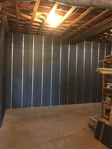 Basement to Beautiful installation done here in Dartmouth, NS