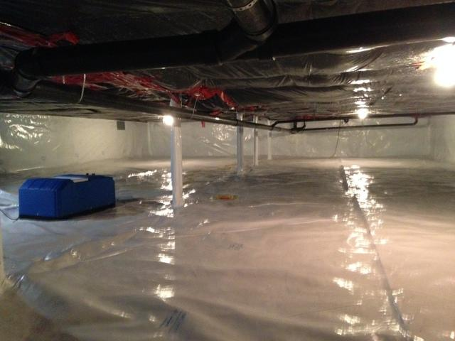 CleanSpace encapsulation in Tatamagouche, NS - After Photo