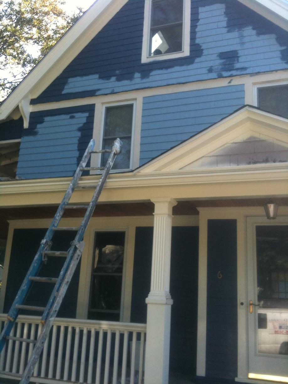 Exterior Painting in Stratford, CT - Before Photo