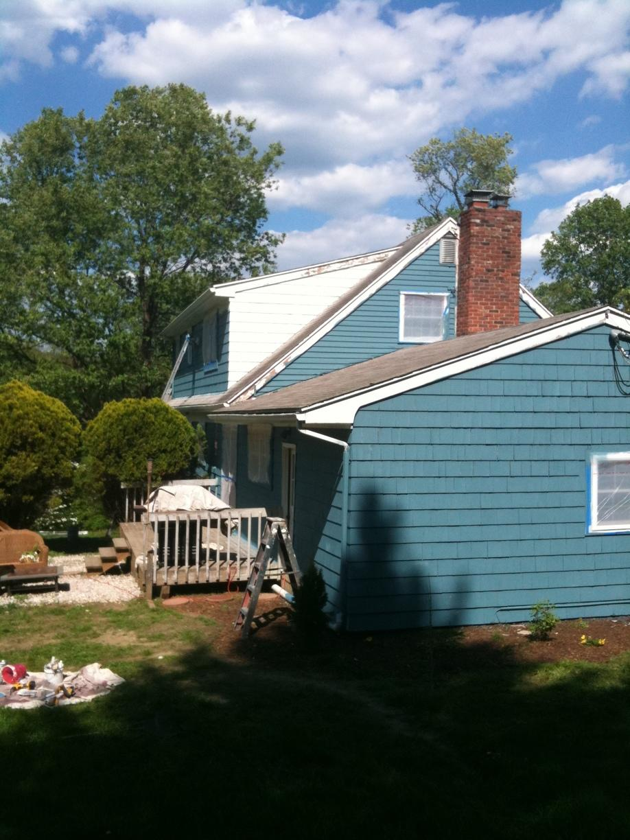 Newtown Connecticut Home with Exterior Paint Job - After Photo