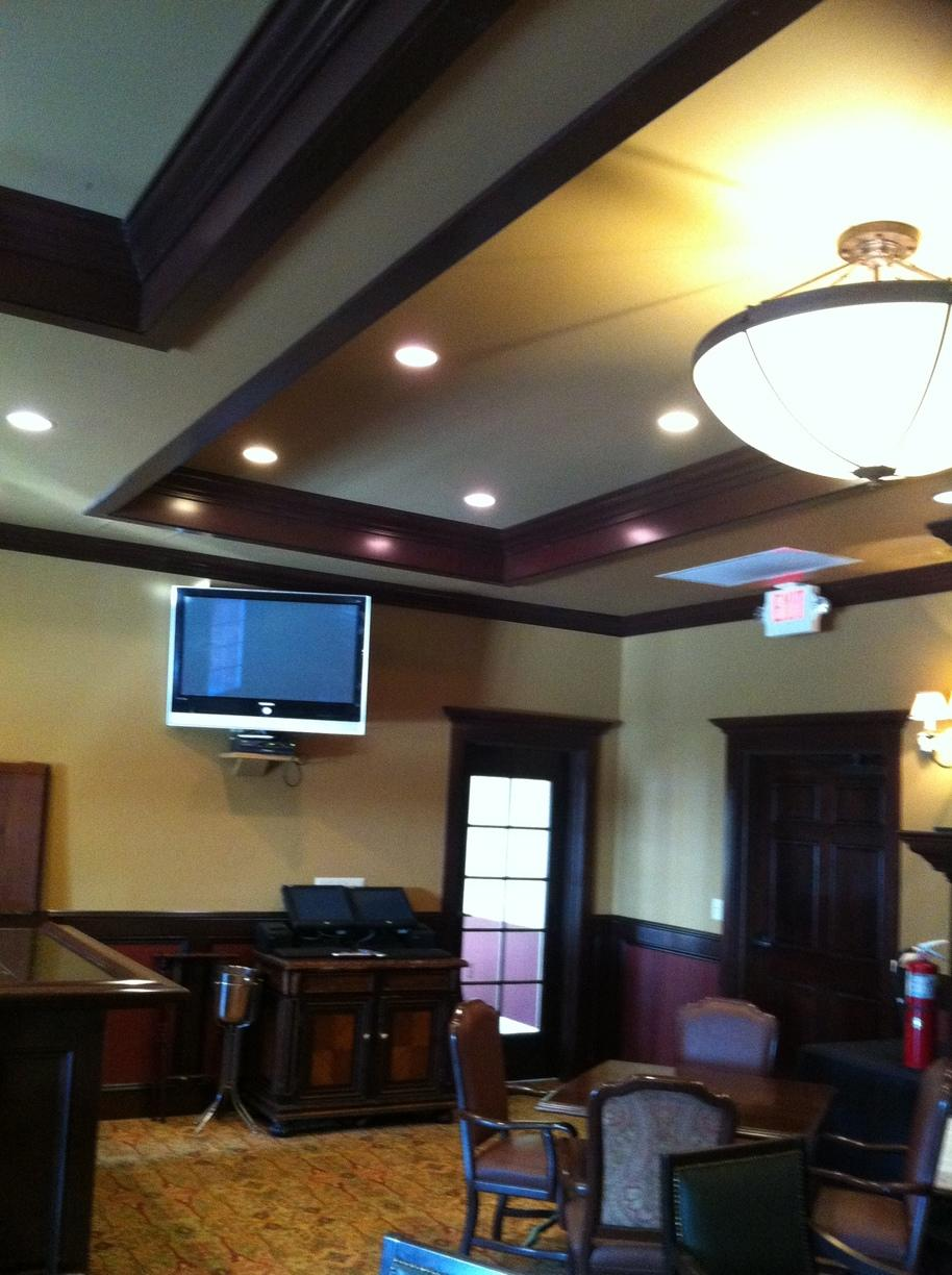 Golf Club in Newtown, CT - Before Photo