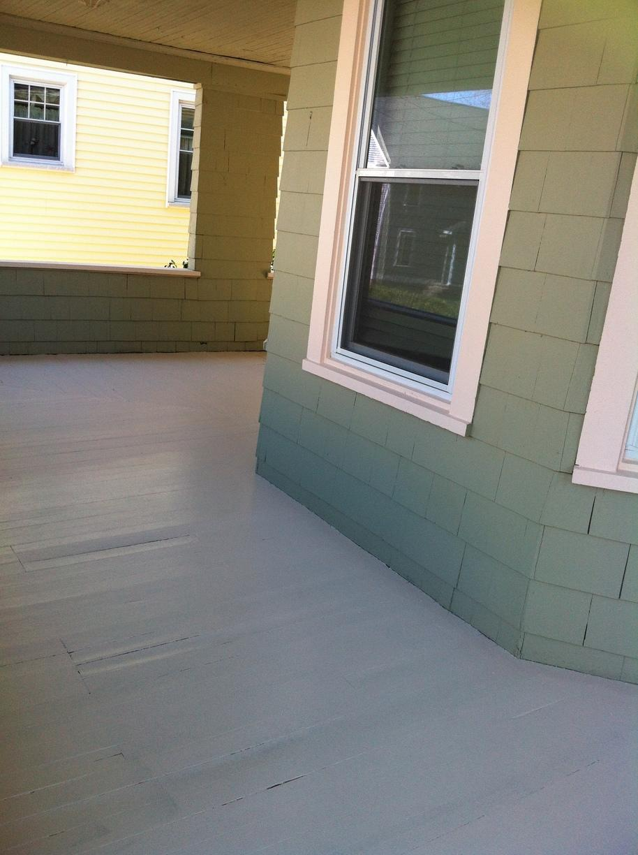 Deck Painting in West Haven, CT - After Photo