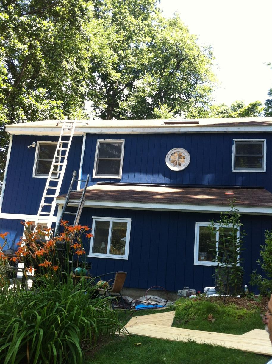 Painting in Sandy Hook, CT - After Photo