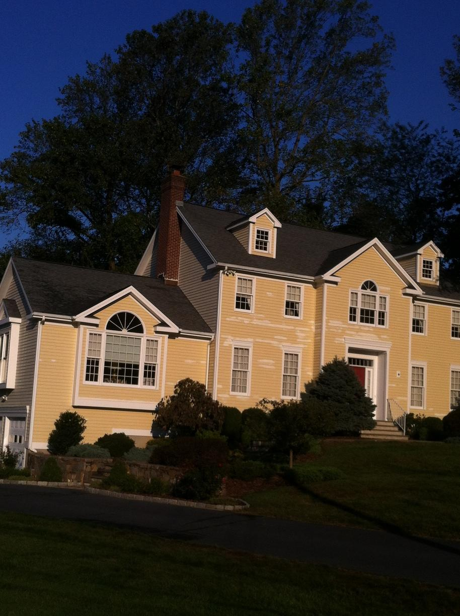 Trumbull, CT Exterior Painting in 2012 - Before Photo