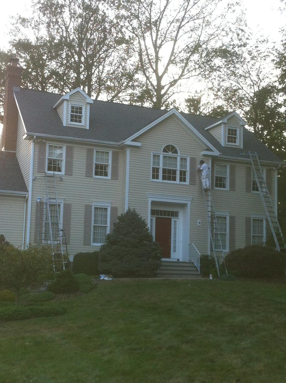 Trumbull, CT Exterior Painting in 2012 - After Photo