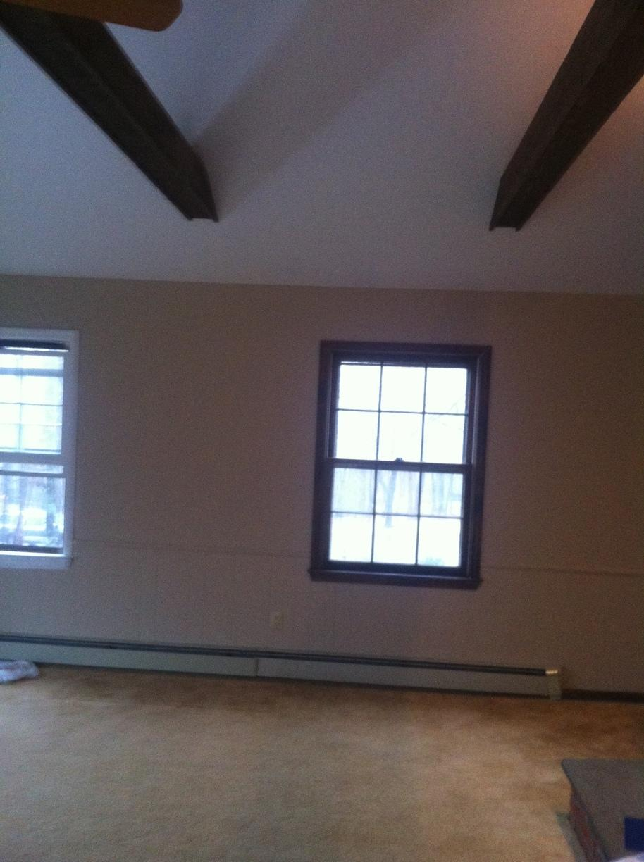 Painting a Bonus Room in Monroe, CT - Before Photo