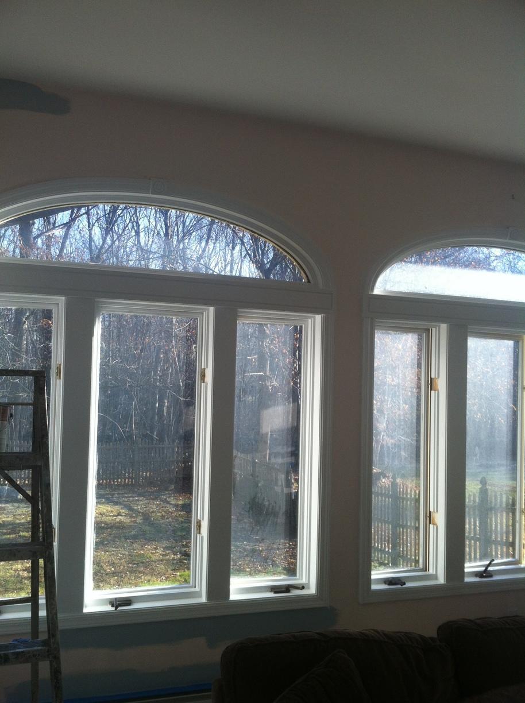 Painted Sunroom - Before Photo