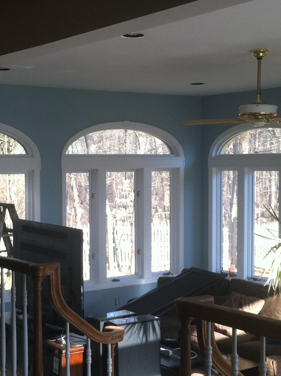 Painted Sunroom - After Photo