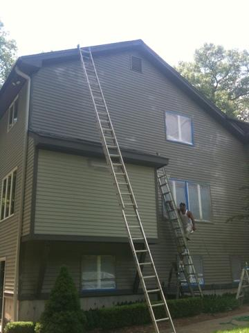 House Exterior Job in Trumbull CT