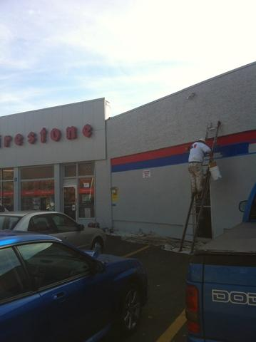 Firestone Gets a Touch Up in Danbury - After Photo