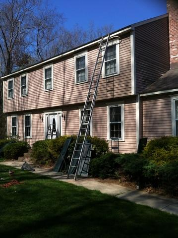An Easton, CT Exterior Paint Job - Before Photo