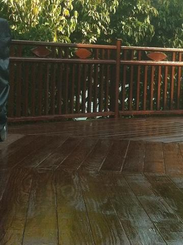 Deck Staining  - After Photo