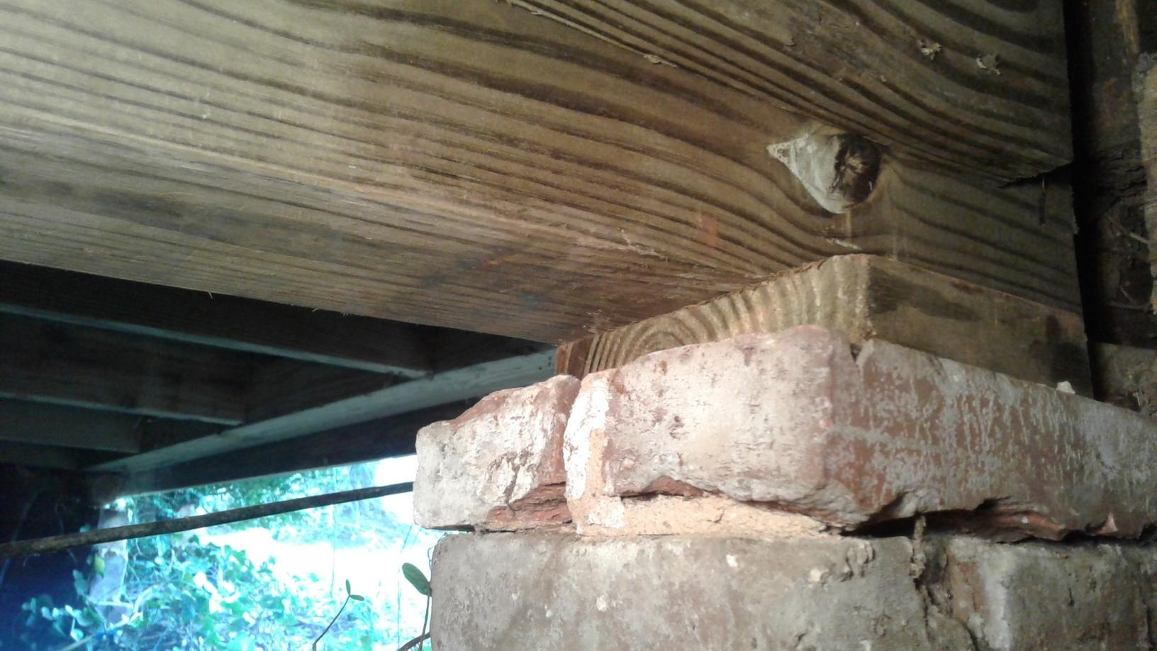 Termite Damaged Wood Replaced in Wellford, SC - After Photo