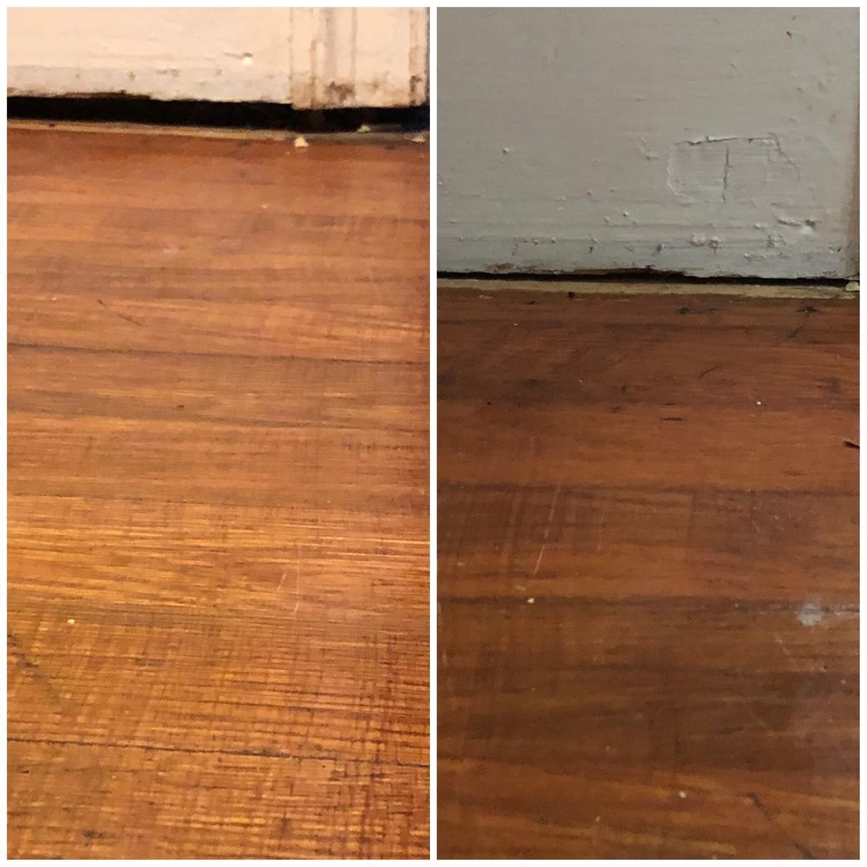 Smart Jacks Lift Sagging Floor in Bishopville, SC - Before Photo