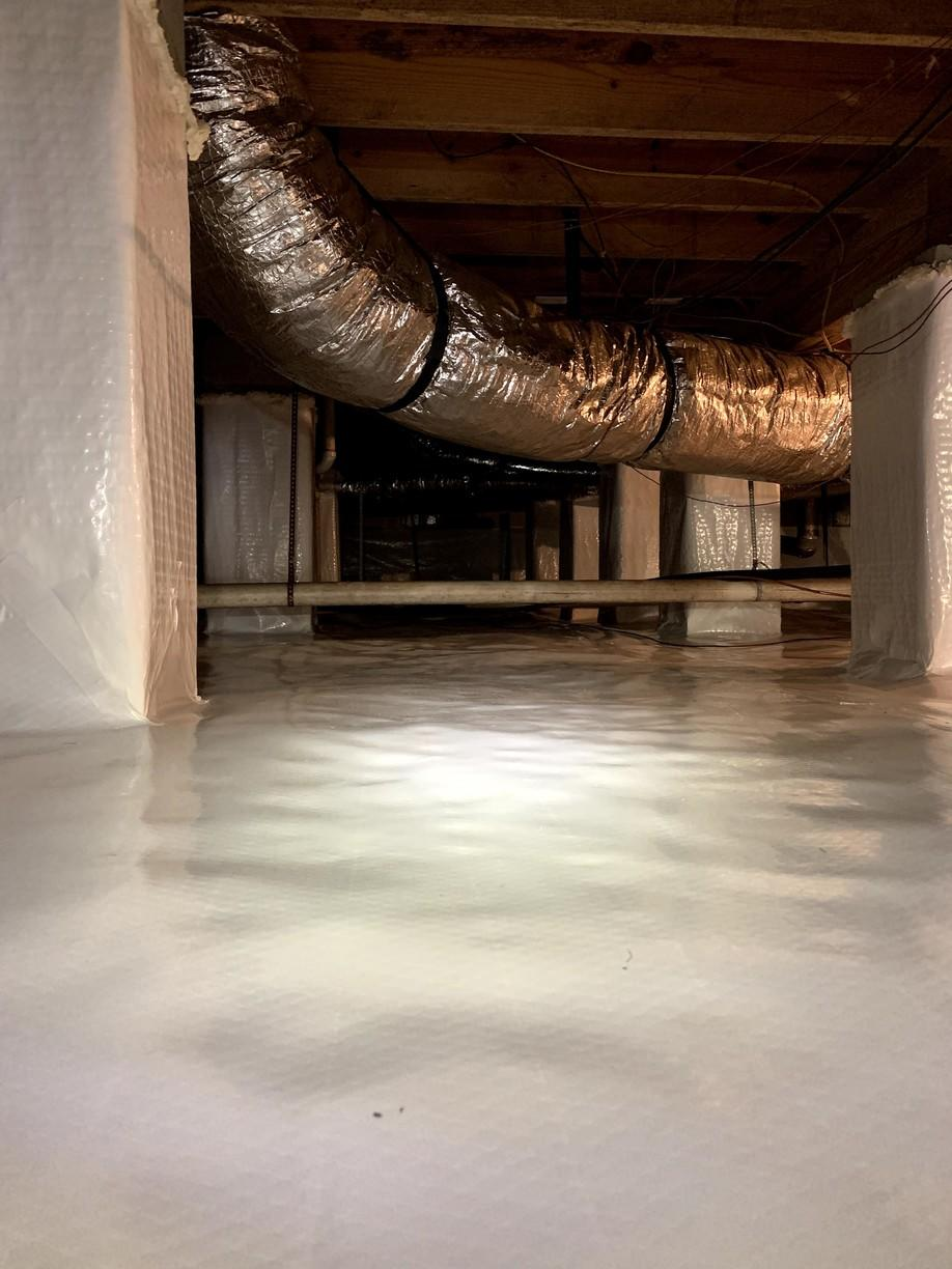 Irmo Crawlspace Gets Rid of It's Moisture Problem - After Photo