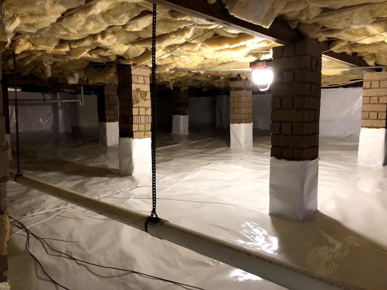 Columbia, SC Crawlspace doesn't have to worry about water any more - After Photo