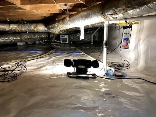Wet Crawl Space Repaired in Columbia SC - After Photo
