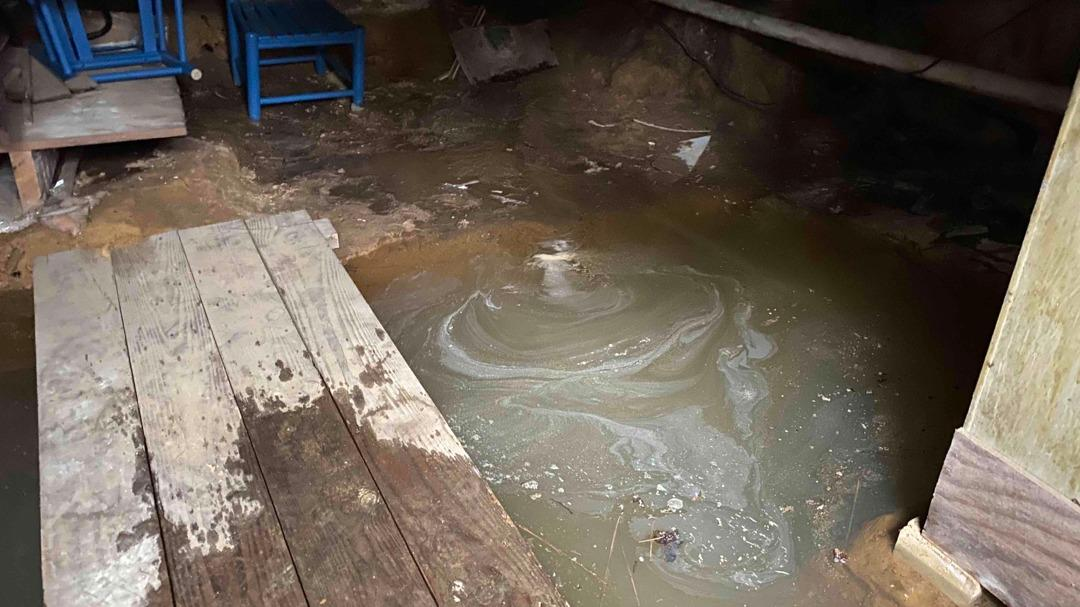 Basement Waterproofing Solutions in Aiken SC - Before Photo