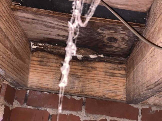 Wood Rot Replacement in Augusta GA - Before Photo