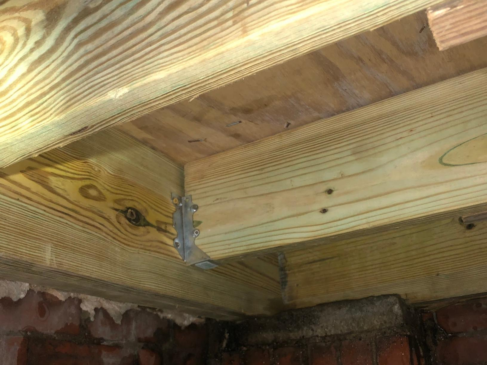 Wood Rot Replacement in Augusta GA - After Photo